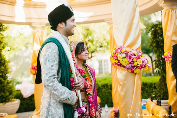 Indian wedding traditional ceremony outdoors