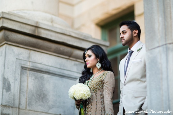 Indian bridal bouquet in Atlanta, Georgia Indian Wedding by Jamie Howell Photography