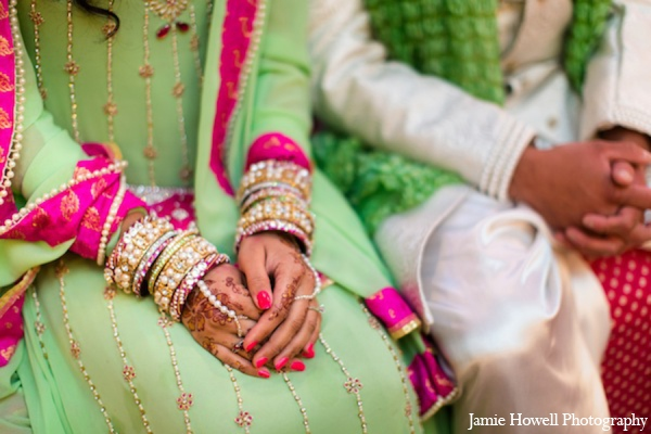 Indian bridal jewelry in Atlanta, Georgia Indian Wedding by Jamie Howell Photography