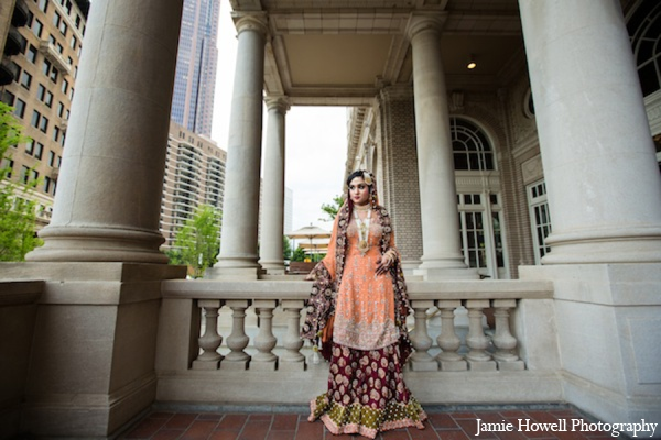 Indian wedding bride portrait in Atlanta, Georgia Indian Wedding by Jamie Howell Photography