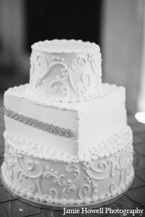 Indian wedding cake in Atlanta, Georgia Indian Wedding by Jamie Howell Photography