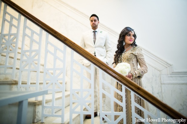 Indian wedding receptioin outfits in Atlanta, Georgia Indian Wedding by Jamie Howell Photography