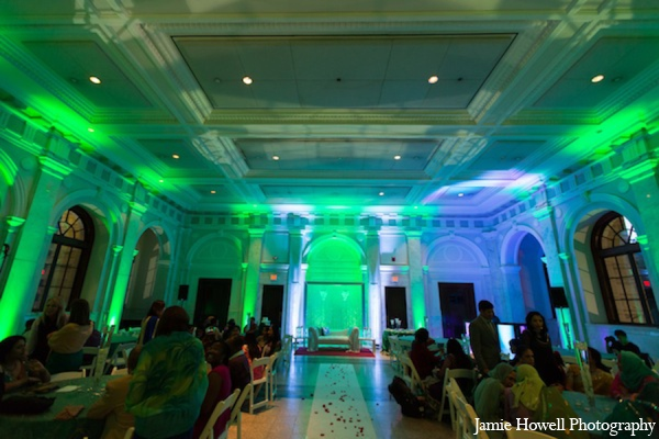 Los Angeles,Cinematography,white,green,blue,Floral & Decor,Lighting,Photography,Planning & Design,Venues,indian wedding decor,indian wedding decorations,Jamie Howell Photography