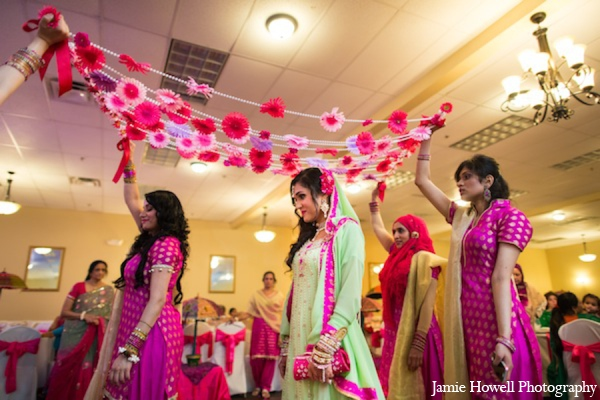 Mehndi party bride traditions in Atlanta, Georgia Indian Wedding by Jamie Howell Photography
