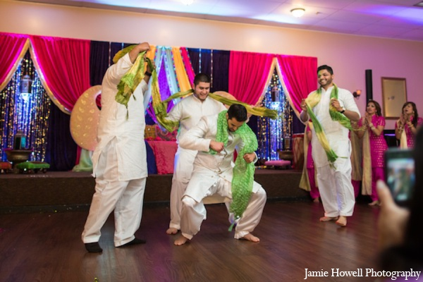 Mehndi party groom traditions in Atlanta, Georgia Indian Wedding by Jamie Howell Photography