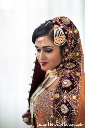south asian bridal hair accessories
