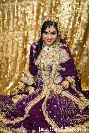 South asian bridal lehenga in Atlanta, Georgia Indian Wedding by Jamie Howell Photography