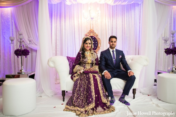 South asian wedding ceremony clothes in Atlanta, Georgia Indian Wedding by Jamie Howell Photography