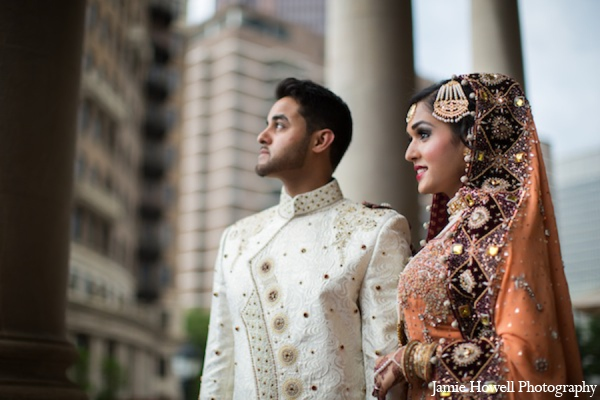 South asian wedding portrait ideas in Atlanta, Georgia Indian Wedding by Jamie Howell Photography