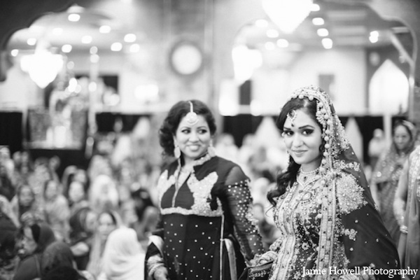Traditional muslim bride in Atlanta, Georgia Indian Wedding by Jamie Howell Photography