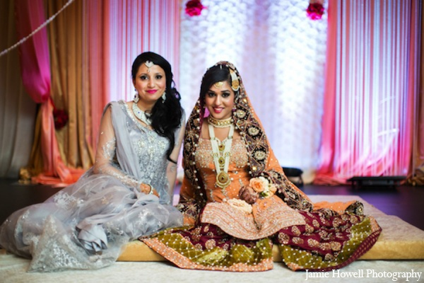 Traditional south asian bride in Atlanta, Georgia Indian Wedding by Jamie Howell Photography