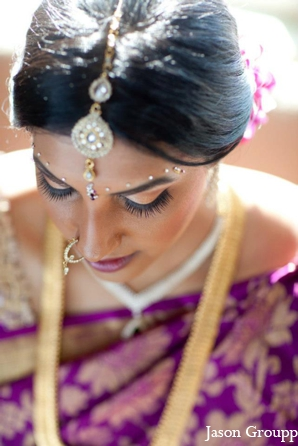 purple,gold,bridal fashions,bridal jewelry,Hair & Makeup,portraits,indian wedding jewelry,bridal hair and makeup,traditional wedding jewelry,Jason Groupp Photography,indian hair and makeup,ceremonial hair and makeup,inspiration for bridal hair and jewelry