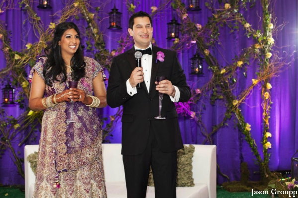 Indian wedding bride groom dancing in Exquisite Indian Wedding by Jason Groupp Photography, Jersey City, New Jersey
