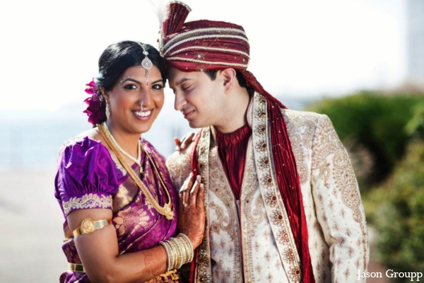 Indian wedding bride groom sherwani lengha in Exquisite Indian Wedding by Jason Groupp Photography, Jersey City, New Jersey