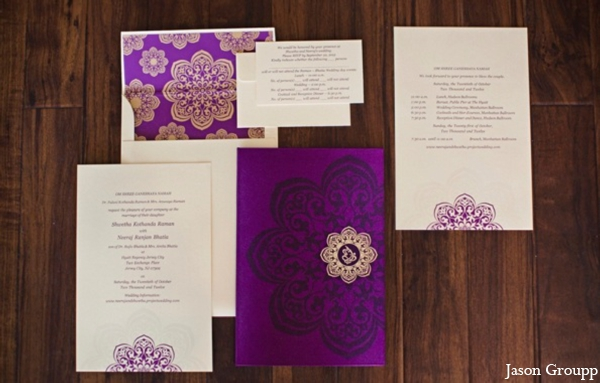 purple,invitations & wedding stationery,Planning & Design,indian wedding stationary,paper stationary ideas,graphic design for paper stationary,invitation design,Jason Groupp Photography