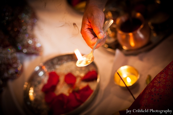 Indian wedding ceremony traditional items in Chicago, Illinois Indian Wedding by Jay Crihfield Photography
