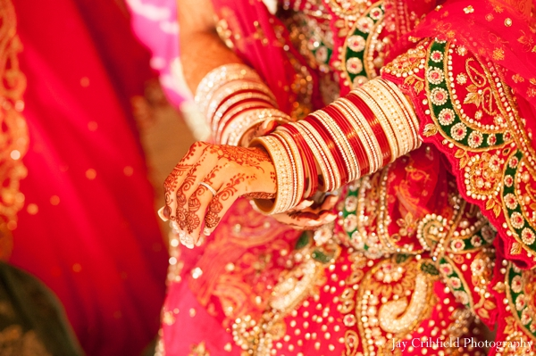 Indian wedding bridal bangles traditional in Chicago, Illinois Indian Wedding by Jay Crihfield Photography