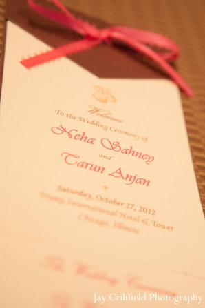 Indian wedding stationary traditional in Chicago, Illinois Indian Wedding by Jay Crihfield Photography
