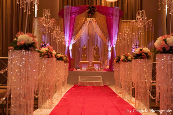 Indian wedding traditional ceremony venue in Chicago, Illinois Indian Wedding by Jay Crihfield Photography