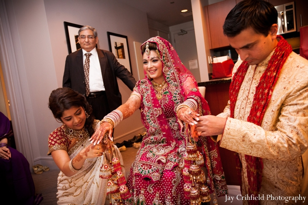 Indian wedding traditional ceremony photograph in Chicago, Illinois Indian Wedding by Jay Crihfield Photography