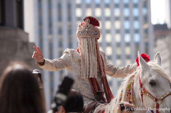 Baraat,indian wedding baraat,traditional baraat,white horse,traditional groom's baraat,Jay Crihfield Photography