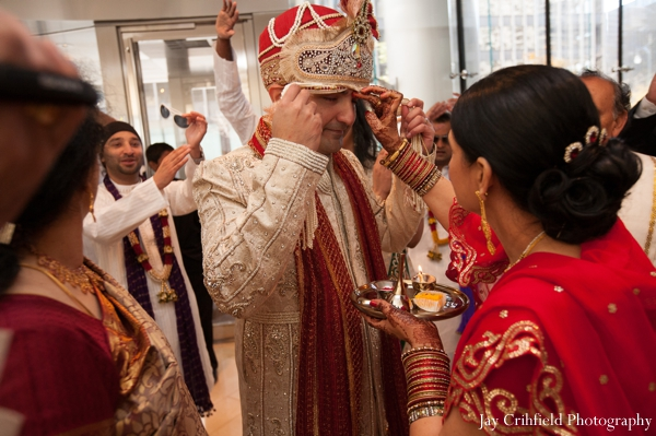 Indian wedding baraat traditional celebration in Chicago, Illinois Indian Wedding by Jay Crihfield Photography