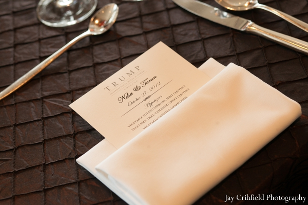 Indian wedding reception table seating in Chicago, Illinois Indian Wedding by Jay Crihfield Photography