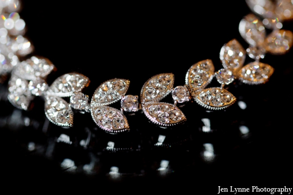 Indian wedding bridal accessories in Chicago, Illinois Indian Fusion Wedding by Jen Lynne Photography