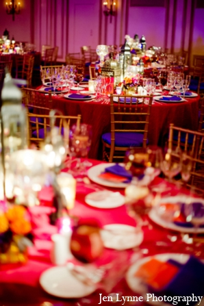 Indian wedding decor ideas reception in Chicago, Illinois Indian Fusion Wedding by Jen Lynne Photography