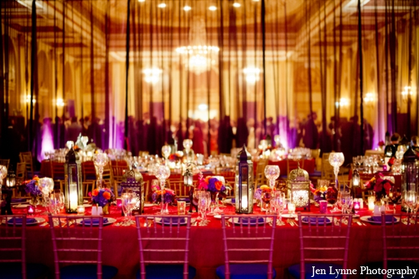 Indian wedding reception ideas in Chicago, Illinois Indian Fusion Wedding by Jen Lynne Photography