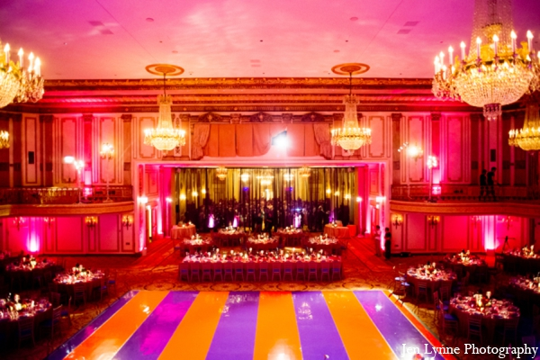 red,purple,gold,orange,red orange,hot pink,yellow,light pink,indian wedding reception lighting,wedding reception lighting