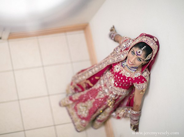 Indian wedding bride bridal fashions in Sacramento, CA Indian Wedding by Jeremy Vesely Photography