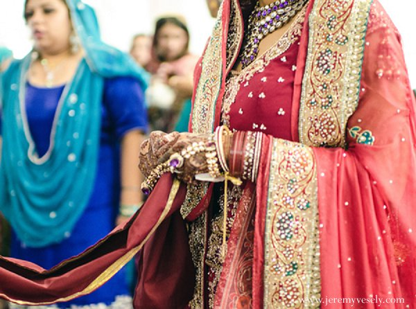 Indian wedding ceremony bridal fashions in Sacramento, CA Indian Wedding by Jeremy Vesely Photography