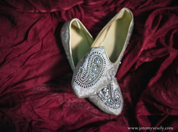 Indian wedding groom fashions shoes in Sacramento, CA Indian Wedding by Jeremy Vesely Photography