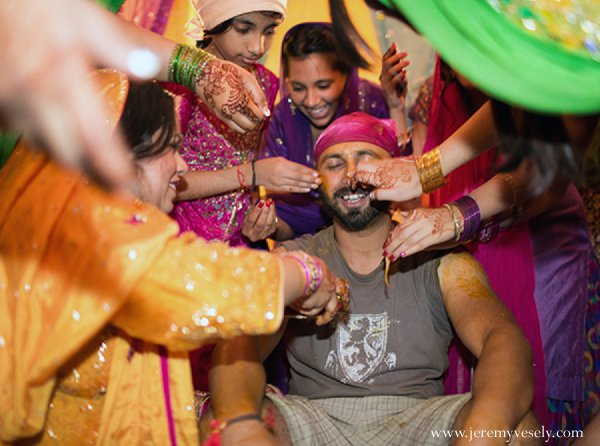 Indian wedding sangeet groom in Sacramento, CA Indian Wedding by Jeremy Vesely Photography