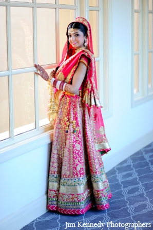Indian-wedding-bridal-portrait-lengha