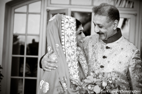 Indian-wedding-bride-father-black-white-portrait