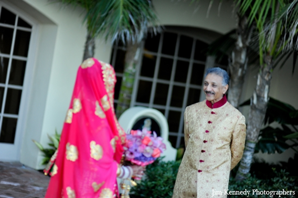 Indian-wedding-bride-groom-portrait-colorful