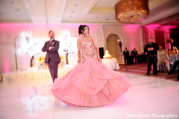 Indian-wedding-bride-groom-reception-dance-dancefloor