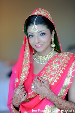 Indian-wedding-bride-maharani-pink-lengha