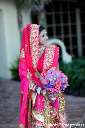 Indian-wedding-bride-portrait-colorful
