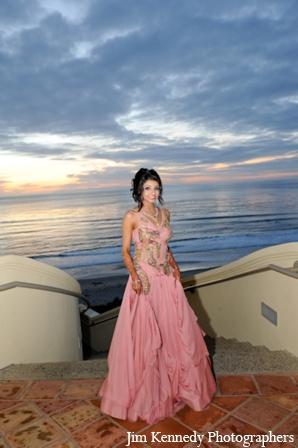 Indian-wedding-bride-portrait-reception-gown