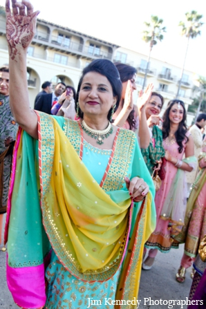 Indian-wedding-celebration-baraat-outdoors
