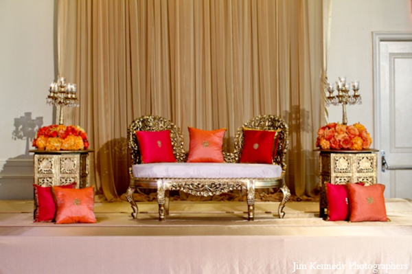 Indian-wedding-ceremony-decor-ideas-orange-red