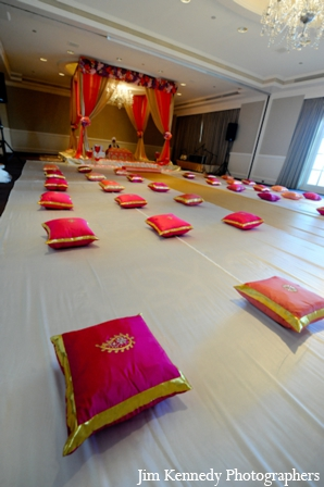 Indian-wedding-ceremony-indoors-mandap