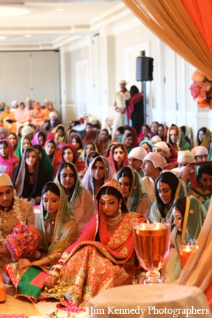 Indian-wedding-ceremony-indoors-traditional