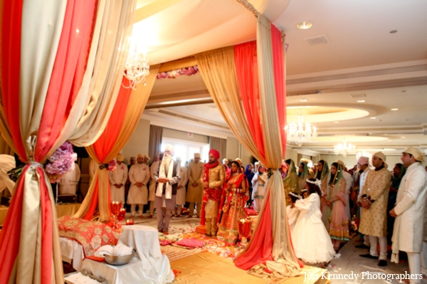 Indian-wedding-ceremony-mandap-indoors-fabric