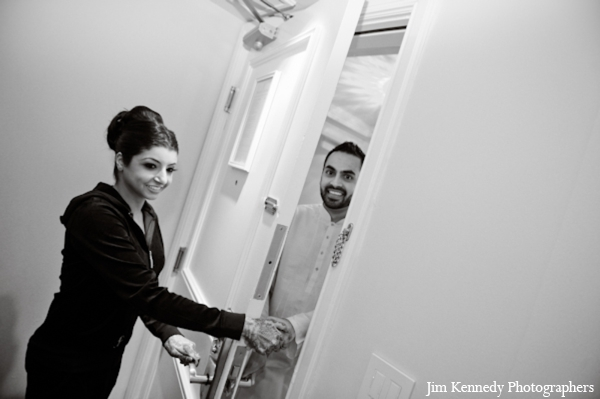 Indian-wedding-ceremony-prep-black-and-white