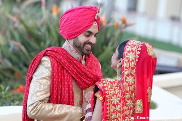 Indian-wedding-couple-first-look-photographs