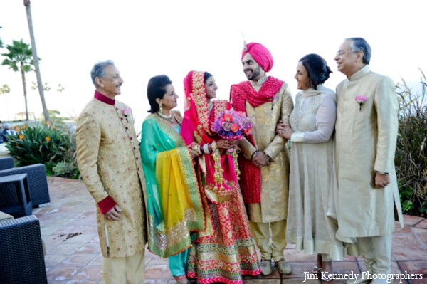 Indian-wedding-family-portrait-outdoors
